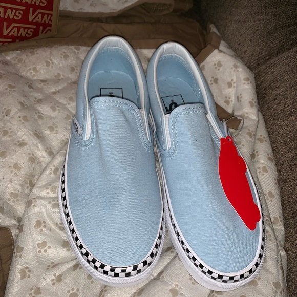 afc176686c Vans slip on (check foxing) NWT